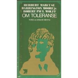 Om toleranse Kritikk av et...