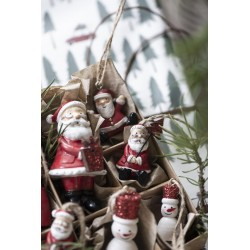 Nisse til juletrepynt håndmalt