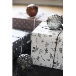 Julekule harlekinmønster klar