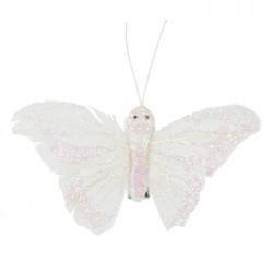 Glitter sommerfugl