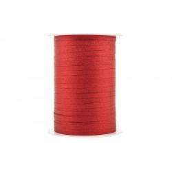 Gavebånd glitter rød 5mm